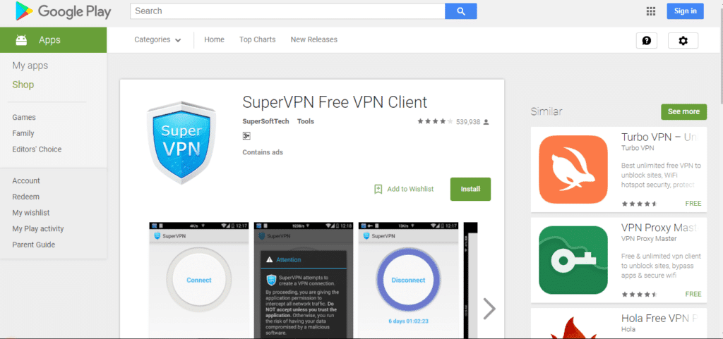 super vpn for pc