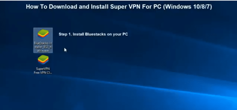Super vpn for windows 7-8-10