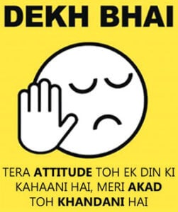 attitude whatsapp dp