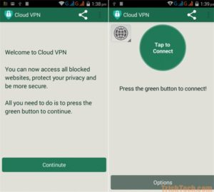 cloud vpn for android