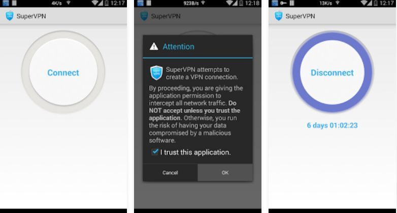 supervpn for android