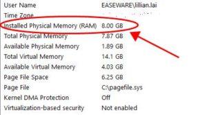 Ram Information