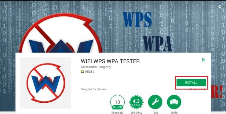 WPA WPS tester for pc