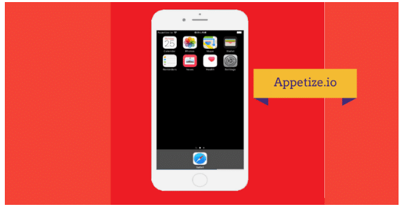 appetize.io iPhone emulator for pc