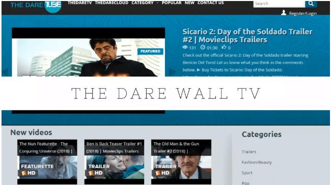 Dare Wall TV